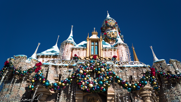 Disneyland Resort, Disneyland, Fantasyland, Sleeping Beauty Castle, Christmas Time, Christmas