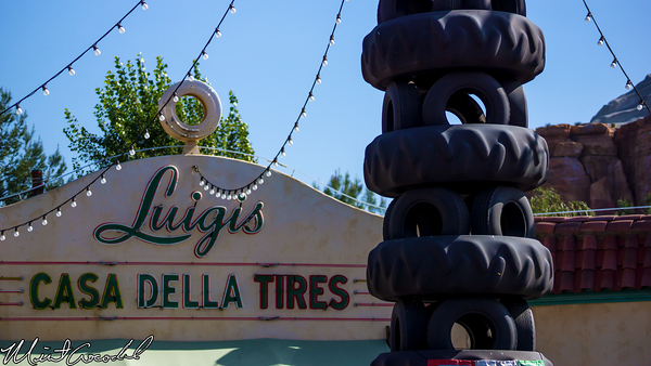 Disneyland Resort, Disney California Adventure, Luigi's, Flying, Tires, Final, Days, Close, Feb, 16, 2015
