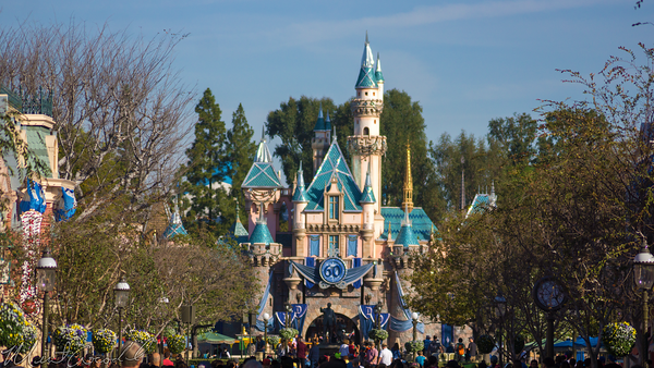 Disneyland Resort, Disneyland60, Disneyland, Main Street U.S.A., Fantasyland, Sleeping, Beauty, Castle