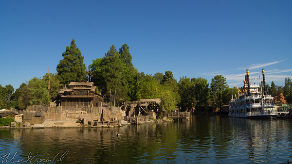 Disneyland Resort, Disneyland60, Halloween, Time, Disneyland, Frontierland, Rivers, America