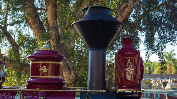 Disneyland Resort, Disneyland60, Disneyland, Main Street U.S.A., Railroad, Station, Depot, Earnest, S, Marsh, Locomotive