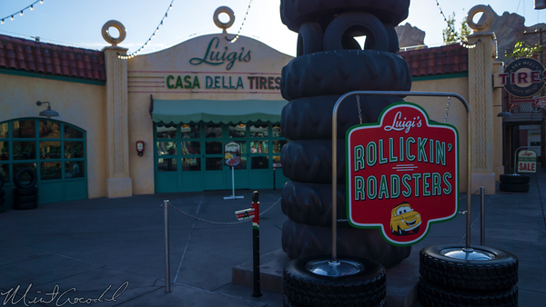 Disneyland Resort, Disney California Adventure, Cars Land, Luigi, Rollickin', Roadsters