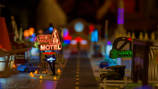 Disneyland Resort, Disneyland60, Halloween, Time, Disney California Adventure, Cars Land, Sarge's, Surplus, Hut, Mattel, Pixar, Precision, Series