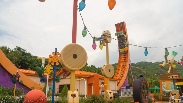 Hong, Kong, Disneyland, Toy, Story, Land, RC, Racer