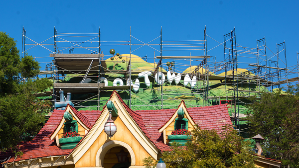 Disneyland Resort, Disneyland, Mickey's, ToonTown, Toon, Town, Paint