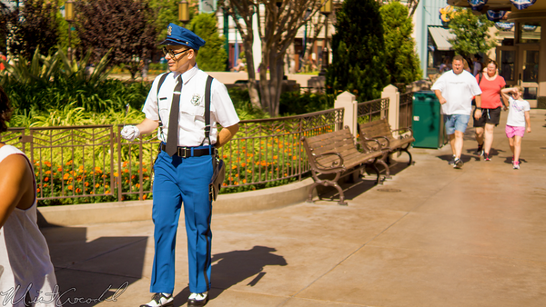 Disneyland Resort, Disneyland60, Halloween, Time, Disney California Adventure, Buena, Vista, Street, Officer, Blue