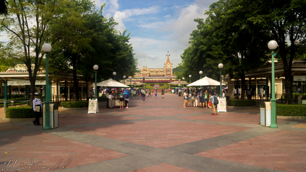 Hong, Kong, Disneyland, Main, Entrance