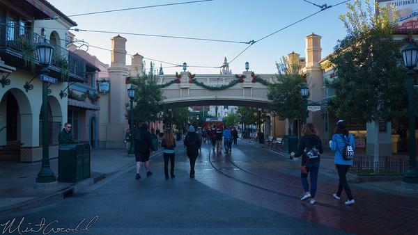 Disneyland Resort, Disneyland60, Christmas, Time, Disney California Adventure, Buena, Vista, Street