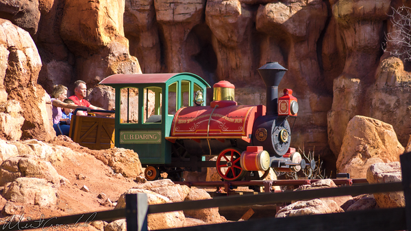 Disneyland Resort, Disneyland60, Disneyland, Frontierland, Big, Thunder, Mountain, Railroad