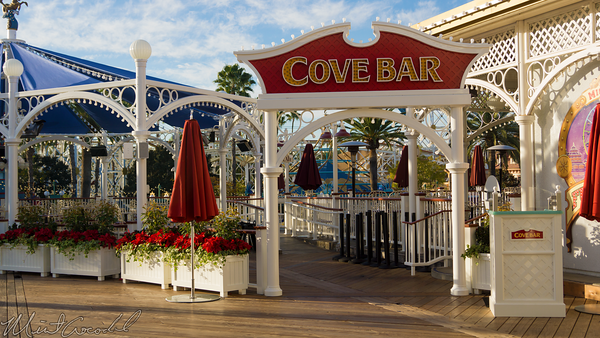 Disneyland Resort, Disneyland60, Christmas, Time, Disney California Adventure, Paradise, Pier, Cove, Bar, Marquee, Canopy, Seating, Seat