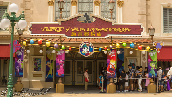 Hong, Kong, Disneyland, Main Street U.S.A., Art of Animation, Inside, Out