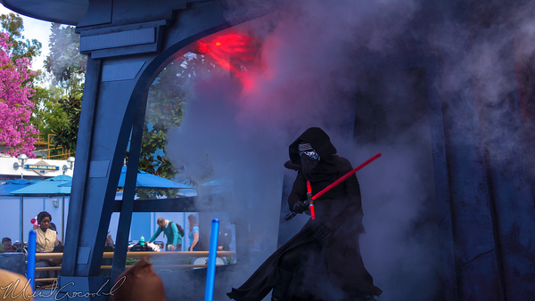 Disneyland Resort, Disneyland, Tomorrowland, Jedi, Training, Trials, Temple, Darth, Vader, Seventh, Sister, Kylo, Ren