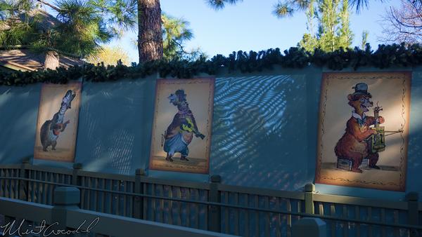 Disneyland Resort, Disneyland60, Disneyland, Critter, Country, Hungry, Bear, Restaurant, Tarp, Ramp, Upper, Level, Floor, Country Bear, Bears, Poster