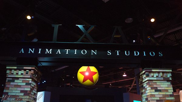 Disneyland Resort, Disneyland60, Disneyland, Disney California Adventure, D23, Expo, 2015, Show, Floor, Pixar