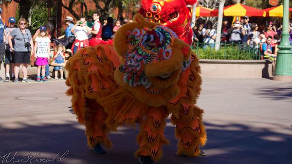 Disneyland Resort, Disneyland60, Disney California Adventure, Paradise, Pier, Lunar, New, Year, Monkey, Performance, Performer, Mulan, Mushu, Mickey, Mouse, Minnie