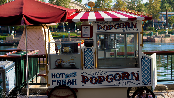 Disneyland Resort, Disneyland60, Disney California Adventure, Paradise, Pier, Popcorn, Cart