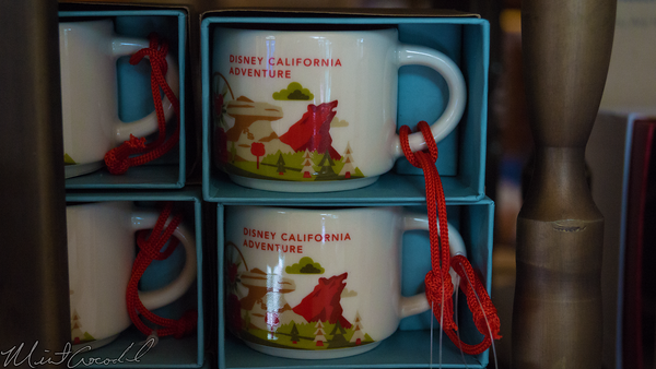 Disneyland Resort, Disneyland60, Christmas, Time, Disneyland, Disney California Adventure, Starbucks, Ornaments, Cups, Coffee