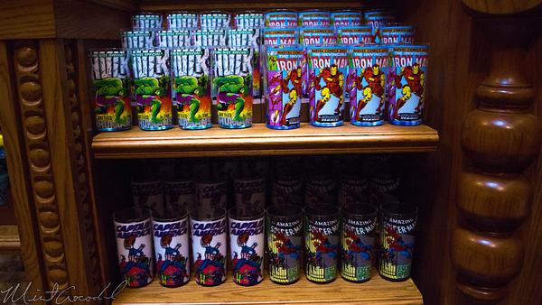 Disneyland Resort, Disneyland60, Christmas, Time, Disney California Adventure, Marvel, Cups