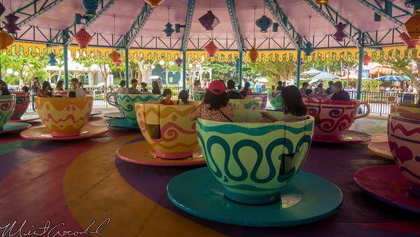 Hong, Kong, Disneyland, Fantasyland, Tea, Cups