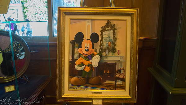 Disneyland Resort, Disneyland60, Halloween, Time, Disneyland, Main Street U.S.A., Disneyana, Mickey, Walt, Painting