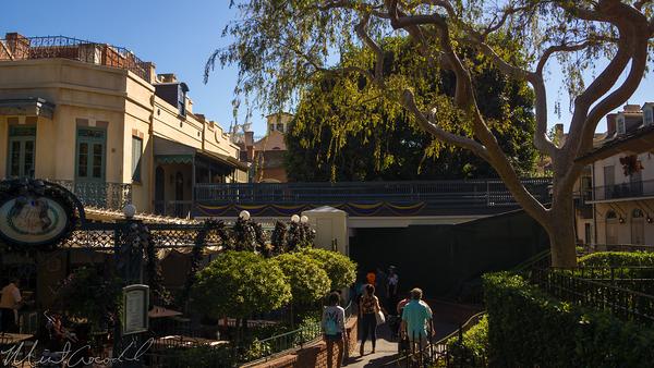 Disneyland Resort, Disneyland60, Christmas, Time, Disneyland, New, Orleans, Square, French, Market, Bridge