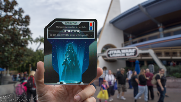 Disneyland Resort, Disneyland60, Christmas, Time, Disneyland, Tomorrowland, Star, Wars, Season, Of, The, Force, Launch, Bay, Darth, Vader, Card