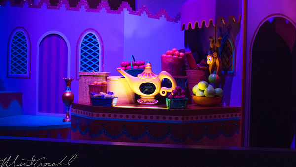 Hong, Kong, Disneyland, Fantasyland, It's, Small, World, Aladdin