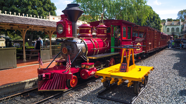 Disneyland Resort, Disneyland, Railroad, Frontierland, Depot, Refurbishment, Refurbish, Refurb, Station, Walt, Disney, Train