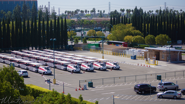 Disneyland Resort, Disneyland, Mickey, Friends, Parking, Structure, Tram, Building, Fuel, Maintenance
