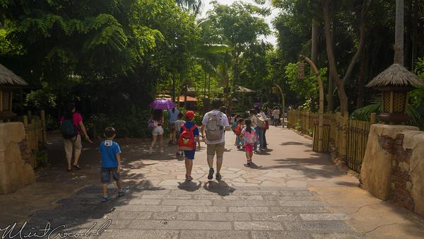 Hong, Kong, Disneyland, Adventureland