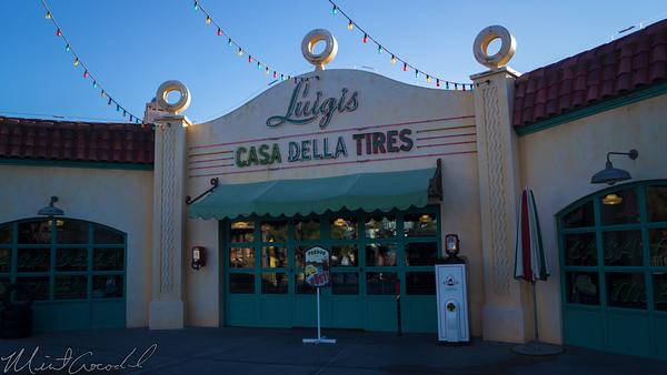 Disneyland Resort, Disneyland60, Christmas, Time, Disney California Adventure, Cars Land, Luigi, Flying, Tires, Rollickin, Roadsters
