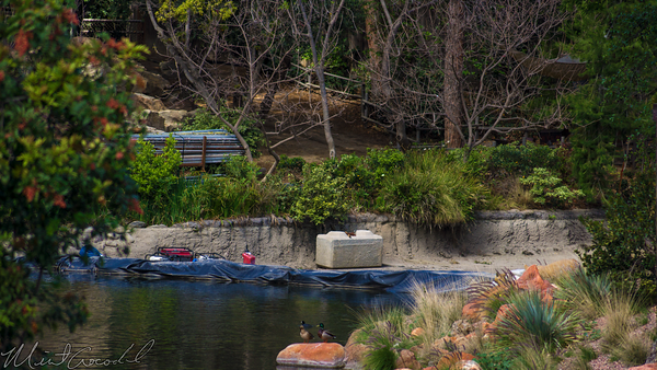 Disneyland Resort, Disneyland, Frontierland, River, America, Star, Wars, Land, Mark, Twain, Coffer, Dam, Cofferdam