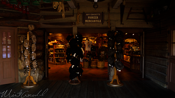 Disneyland Resort, Disneyland60, Christmas, Time, Disneyland, Frontierland, Pioneer, Mercantile, Gun, No, Allowed