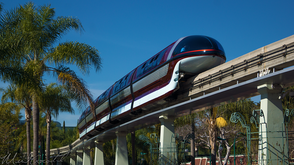Disneyland Resort, Disneyland60, Disneyland, Monorail, Pylon