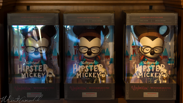 Disneyland Resort, Disneyland60, Disney California Adventure, Buena, Vista, Street, Vinylmation, Hipster, Mickey