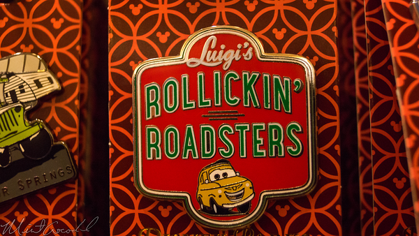 Disneyland Resort, Disneyland60, Disneyland, Cars Land, Luigi's, Rollickin', Roadsters, Pin, Pins, Disney