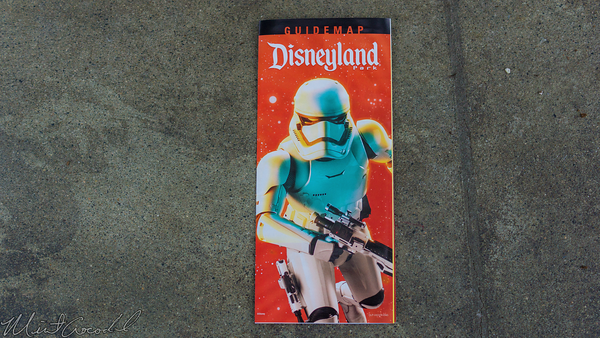 Disneyland Resort, Disneyland, Guide, Map, Star, Wars