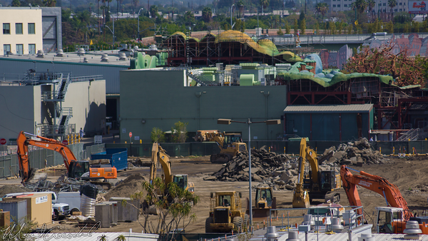 Disneyland Resort, Disneyland, Critter, Country, Frontierland, Star, Wars, Land, Construction, Mickey, Friends, Parking, Structure