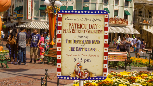 Disneyland Resort, Disneyland60, Disneyland, Main Street U.S.A., Halloween, Time, Band, Patriotic