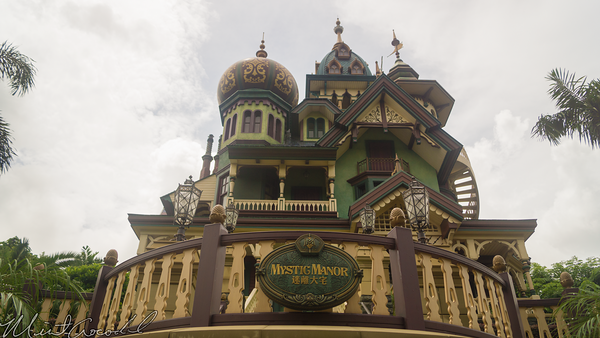 Hong, Kong, Disneyland, Mystic, Manor, Point