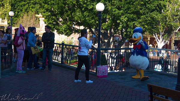 Disneyland Resort, Disneyland60, Disneyland, Main Street U.S.A., Railroad, Station, Depot, Donald, Duck