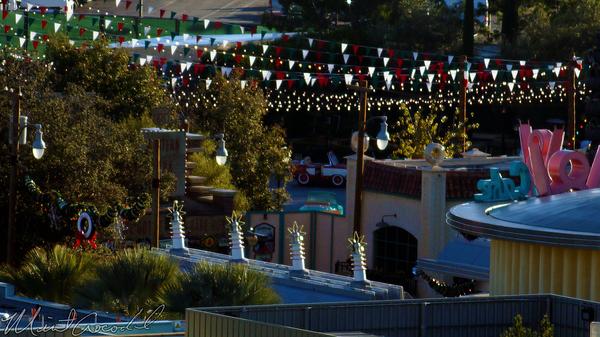 Disneyland Resort, Disneyland60, Christmas, Time, Disney California Adventure, Cars Land, Luigi, Flying, Tires, Rollickin, Roadsters, Paradise, Pier, Mickey, Fun, Wheel