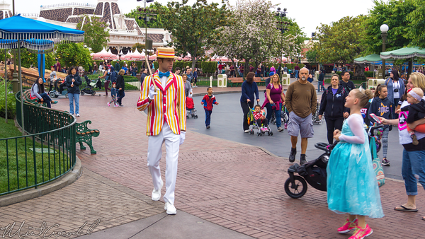 Disneyland Resort, Disneyland, Burt, Bert, Mary Poppins