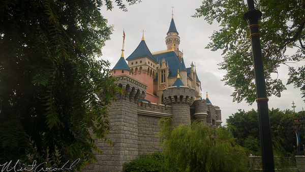 Hong, Kong, Disneyland, Sleeping Beauty, Castle