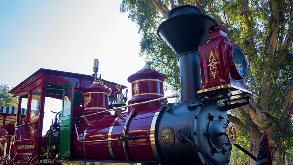 Disneyland Resort, Disneyland60, Disneyland, Main Street U.S.A., Railroad, Station, Depot, Earnest, S, Marsh, Locomotive