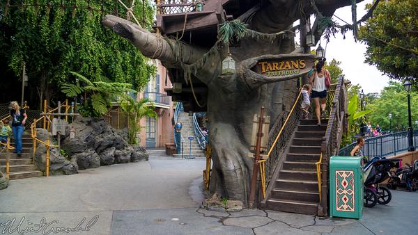 Disneyland Resort, Disneyland60, Disneyland, Disney California Adventure, Adventureland, Tarzan, Treehouse
