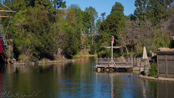 Disneyland Resort, Disneyland60, Disneyland, Frontierland, Rivers, America, Star, Wars, Land, Construction, River, bend