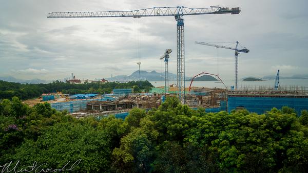 Hong, Kong, Disneyland, Explorers, Lodge, Hotel, Construction, Disney's, Hollywood, Hotel
