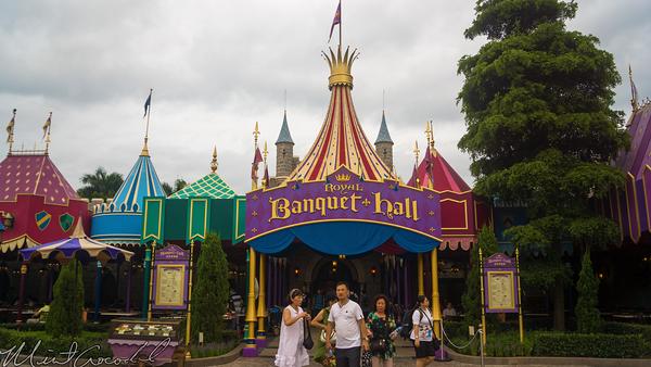 Hong, Kong, Disneyland. Famtasyland, Banquet, Hall, Restaurant