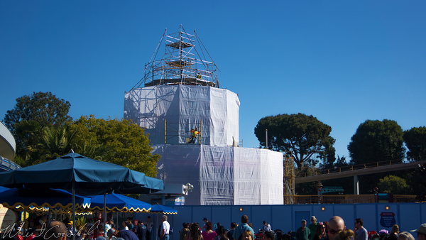 Disneyland Resort, Disneyland60, Disneyland, Tomorrowland, Autopia, Refurbish, Refurbishment, Refurb